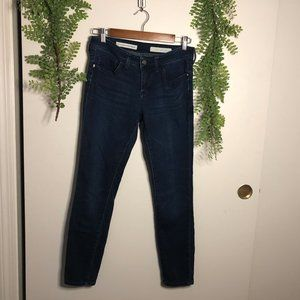 anthropologie / pilcro stet ankle jeans / like-new